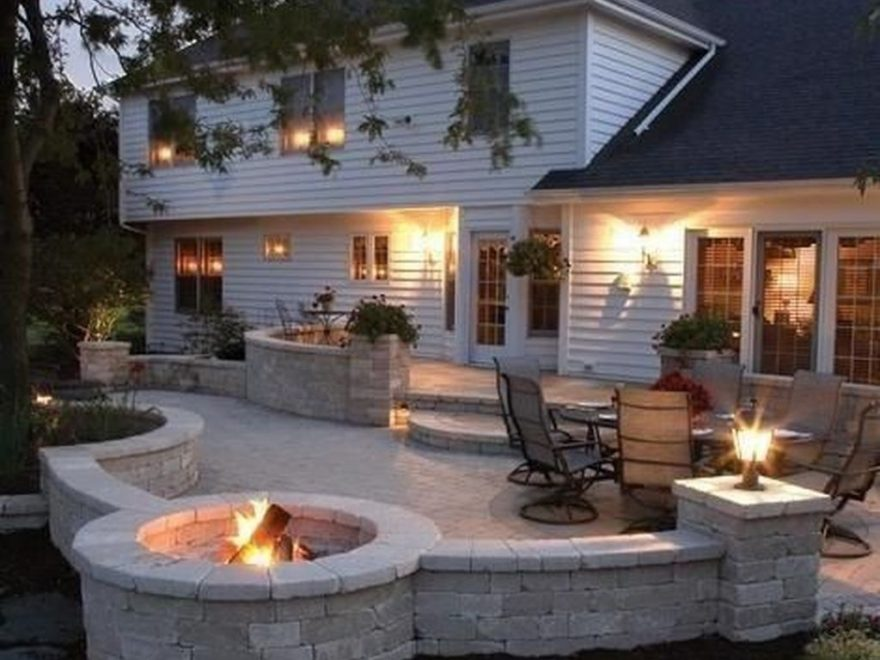 Modern Fresh Backyard Patio Ideas35