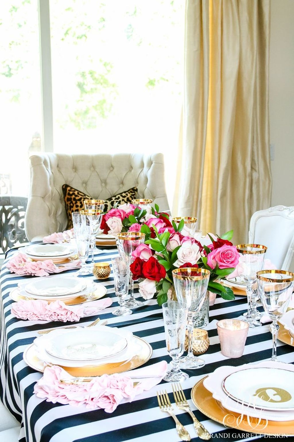 Elegant Table Settings Design Ideas For Valentines Day28