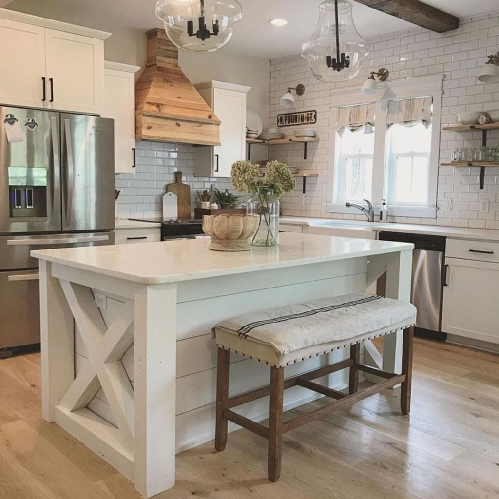 Beautiful Farmhouse Kitchen Décor And Remodel Ideas For You16